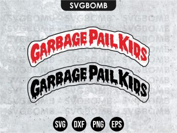 Garbage Pail Kids SVG