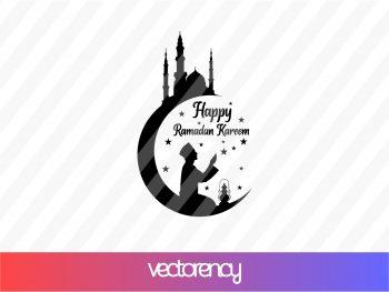 Happy Ramadan Kareem SVG