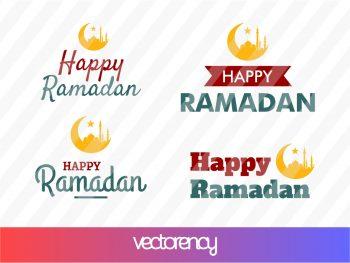 Happy Ramadhan SVG