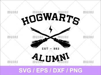 Harry Potter Hogwarts Alumni SVG