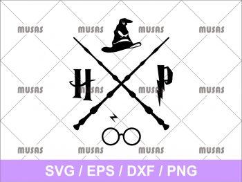 Harry Potter Hogwarts SVG
