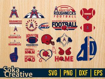 Houston Roughnecks SVG
