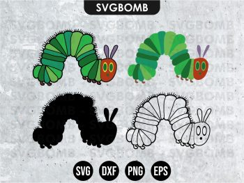 Hungry Caterpillar SVG