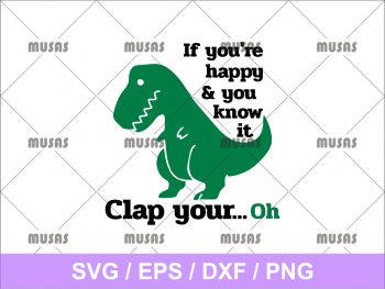 If You're Happy and You Know It SVG