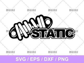 JDM Static SVG Cut File