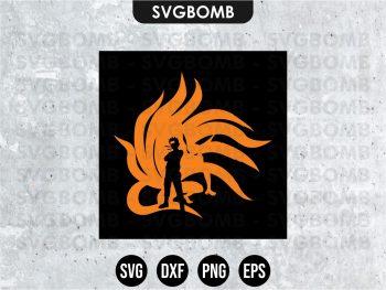 Kurama Naruto SVG