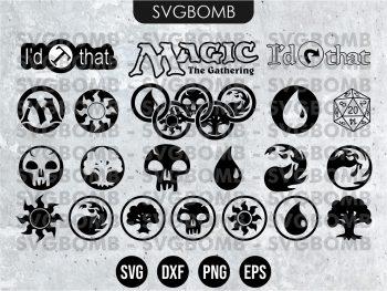 Magic The Gathering SVG