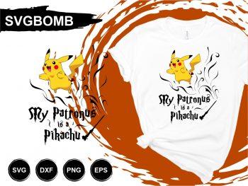 My Patronus is Pikachu SVG