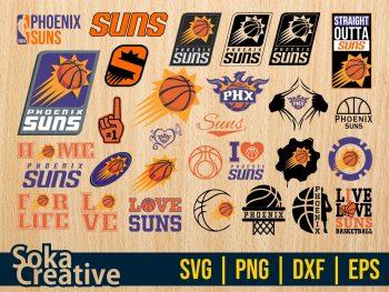 NBA Basketball Phoenix Suns SVG