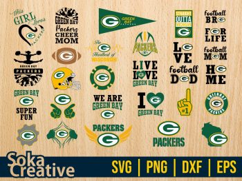 NFL Green Bay Packers SVG