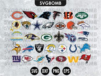 NFL Teams Logos SVG