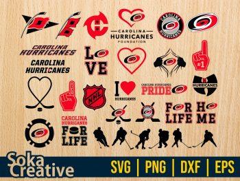 NHL Carolina Hurricanes SVG