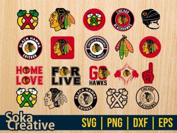 NHL Chicago Blackhawks SVG