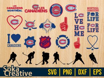 NHL Montreal Canadiens SVG