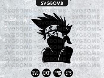 Naruto Character Kakashi SVG