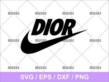 Nike Dior SVG
