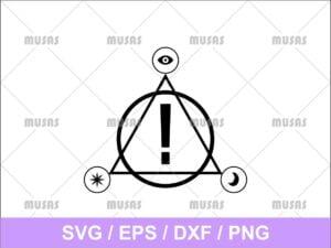 Panic At The Disco Logo SVG
