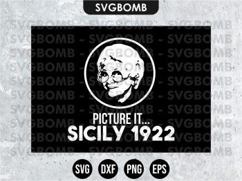 Picture it Sicily 1922 SVG