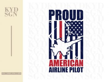 Proud American Airlines Pilot