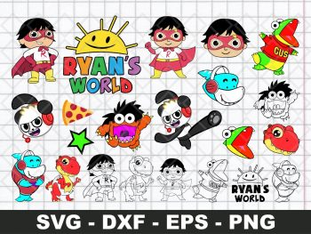 Ryan's World SVG