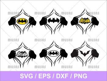 Superhero Batman SVG
