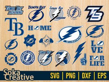 Tampa Bay Lightning SVG