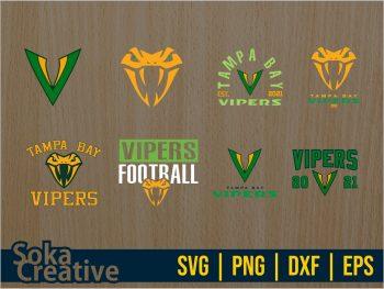 Tampa Bay Vipers SVG
