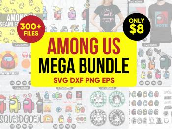 Vectorency Among Us SVG Mega Bundle
