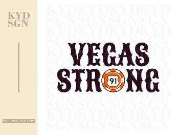 Vegas Strong SVG