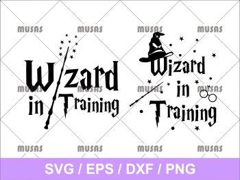 Wizard In Training SVG