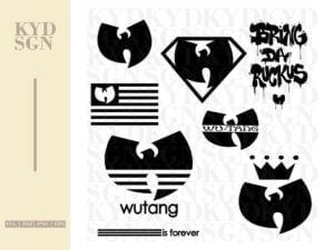 Wutang Clan SVG