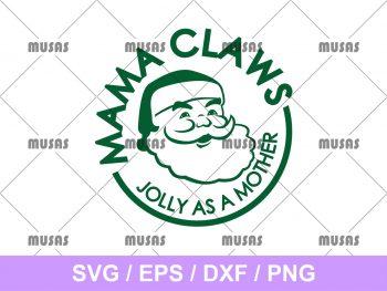 Mama Claws SVG