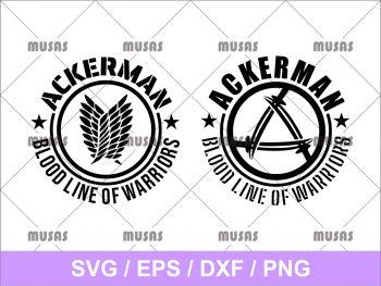 Ackerman Bloodline of Warriors SVG