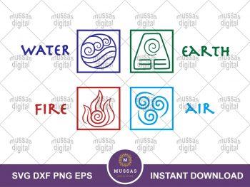 Avatar The Last Airbender Icon SVG