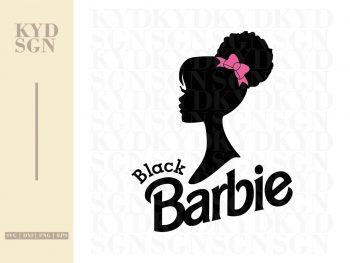 Black Barbie SVG