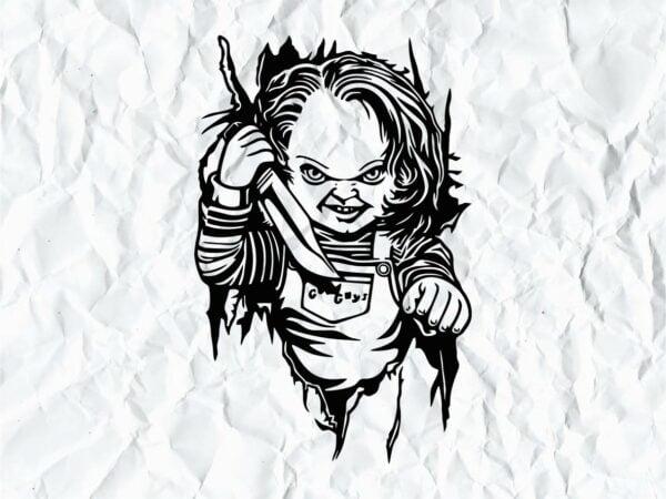 Chucky SVG