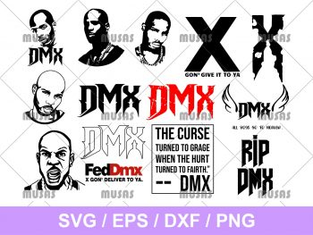 DMX SVG Bundle