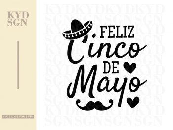 Feliz Cinco De Mayo SVG