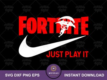 Fortnite Just Play It SVG