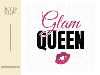 Glam Queen SVG