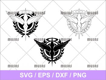 Gundam 00 Double OO Celestial Being SVG