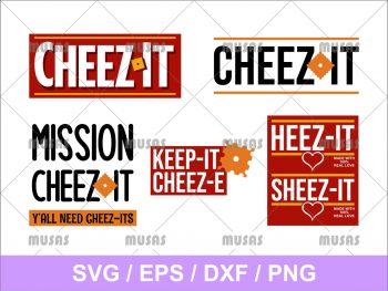 Heez It Sheez It SVG