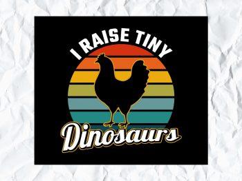 I Raise Tiny Dinosaurs SVG