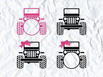 Jeep Monogram SVG