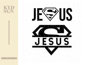 Jesus is My Superman SVG