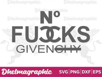 No Fucks Given SVG
