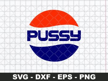 PEPSI PUSSY SVG