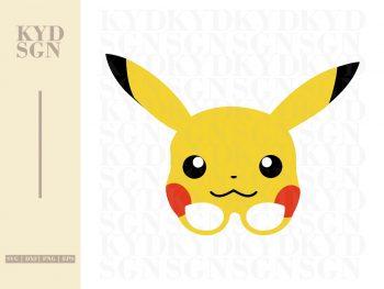 Pikachu Mask SVG