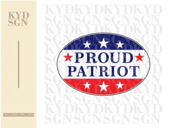Proud Patriot SVG