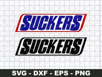 Snicker Sucker Funny Logo SVG